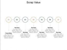 Scrap Value Ppt Powerpoint Presentation Inspiration Designs Download Cpb