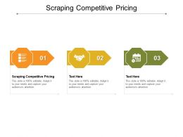 Scraping Competitive Pricing Ppt Powerpoint Presentation Show Summary Cpb
