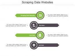 Scraping Data Websites Ppt Powerpoint Presentation Professional Template Cpb
