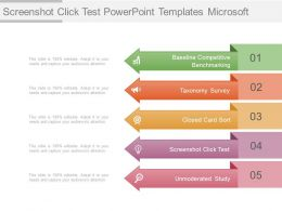 Screenshot Click Test Powerpoint Templates Microsoft