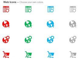 Script Optimization Web Global Optimization Seo Marketing Ppt Icons Graphics