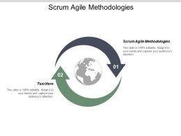 Scrum Agile Methodologies Ppt Powerpoint Presentation Infographic Template Information Cpb