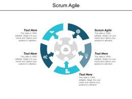 Scrum Agile Ppt Powerpoint Presentation Show Graphics Tutorials Cpb