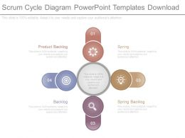 Scrum Cycle Diagram Powerpoint Templates Download