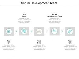 Scrum Development Team Ppt Powerpoint Presentation Outline Show Cpb
