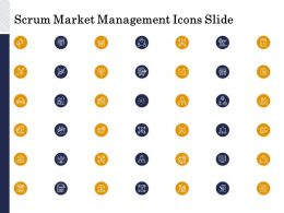 Scrum Market Management Icons Slide Ppt Powerpoint Presentation Themes