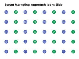 Scrum Marketing Approach Icons Slide L1181 Ppt Powerpoint Slides
