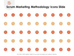 Scrum Marketing Methodology Icons Slide L1184 Ppt Powerpoint File Deck