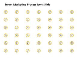 Scrum Marketing Process Icons Slide Ppt Powerpoint Presentation Model Slide Portrait