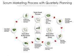 Scrum Marketing Process With Quarterly Planning