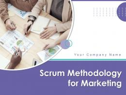 Scrum Methodology For Marketing Powerpoint Presentation Slides