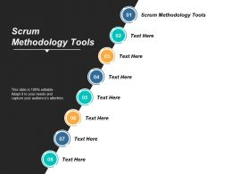 Scrum Methodology Tools Ppt Powerpoint Presentation Icon Layout Cpb