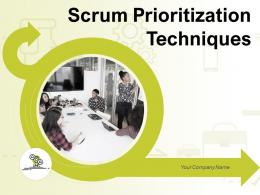 Scrum Prioritization Techniques Powerpoint Presentation Slides