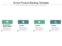 Scrum Product Backlog Template Ppt Powerpoint Presentation Show Example Topics Cpb
