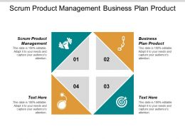 Scrum Product Management Business Plan Product Cross Functional Relationships Cpb