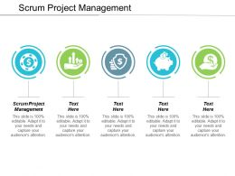Scrum Project Management Ppt Powerpoint Presentation File Graphics Download Cpb
