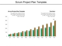 Scrum Project Plan Template Ppt Powerpoint Presentation File Outfit Cpb