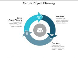 Scrum Project Planning Ppt Powerpoint Presentation Show Grid Cpb