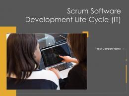 Scrum Software Development Life Cycle It Powerpoint Presentation Slides