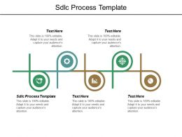 Sdlc Process Template Ppt Powerpoint Presentation Layouts Design Ideas Cpb
