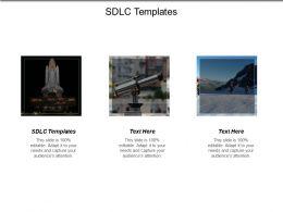 Sdlc Templates Ppt Powerpoint Presentation Show Gridlines Cpb