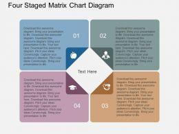 se_four_staged_matrix_chart_diagram_flat_powerpoint_design_Slide01