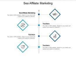Sea Affiliate Marketing Ppt Powerpoint Presentation Infographic Template Portrait Cpb