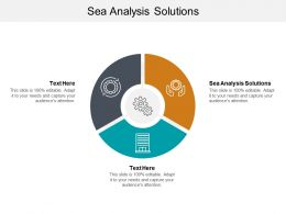 Sea Analysis Solutions Ppt Powerpoint Presentation Inspiration Clipart Images Cpb