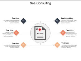 Sea Consulting Ppt Powerpoint Presentation Model Graphics Design Cpb