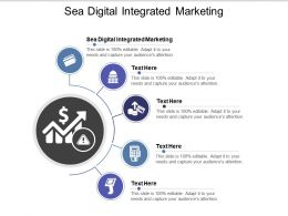 Sea Digital Integrated Marketing Ppt Powerpoint Presentation Infographics Clipart Cpb