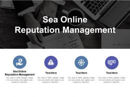 Sea Online Reputation Management Ppt Powerpoint Presentation Infographics Designs Cpb