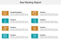 Sea Ranking Report Ppt Powerpoint Presentation Inspiration Clipart Cpb