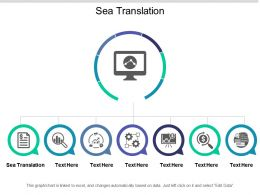 Sea Translation Ppt Powerpoint Presentation Gallery Examples Cpb
