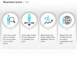 Search An Employee Choose Any Direction Successs Global Man Ppt Icons Graphics