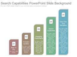 Search Capabilities Powerpoint Slides Background