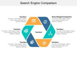 Search Engine Comparison Ppt Powerpoint Presentation Slides Gridlines Cpb