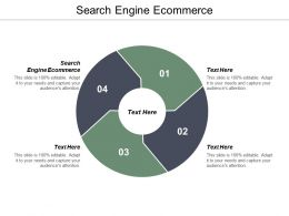 Search Engine E Commerce Ppt Powerpoint Presentation Icon Graphic Images Cpb