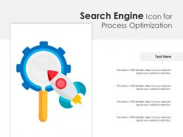 Search Engine Icon For Process Optimization
