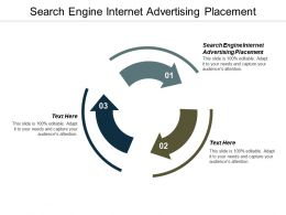 Search Engine Internet Advertising Placement Ppt Powerpoint Presentation Pictures Design Ideas Cpb