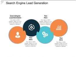 Search Engine Lead Generation Ppt Powerpoint Presentation Model Information Cpb