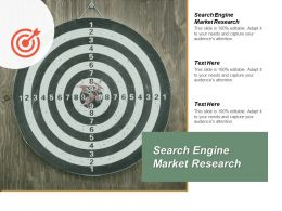 Search Engine Market Research Ppt Powerpoint Presentation Inspiration Slide Cpb