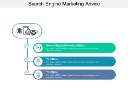 Search Engine Marketing Advice Ppt Powerpoint Presentation Infographics Aids Cpb