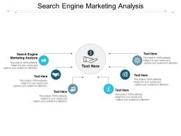Search Engine Marketing Analysis Ppt Powerpoint Presentation Infographics Example Cpb