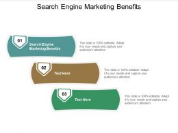 Search Engine Marketing Benefits Ppt Powerpoint Presentation Slides Skills Cpb