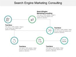 Search Engine Marketing Consulting Ppt Powerpoint Presentation Gallery Visual Aids Cpb