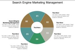 Search Engine Marketing Management Ppt Powerpoint Presentation Professional Layout Cpb