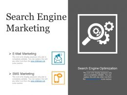 Search Engine Marketing Presentation Images