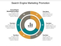 Search Engine Marketing Promotion Ppt Powerpoint Presentation Model Infographic Template Cpb