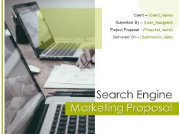 Search Engine Marketing Proposal Powerpoint Presentation Slides