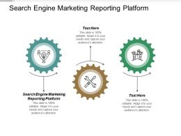 Search Engine Marketing Reporting Platform Ppt Powerpoint Presentation Gallery Slides Cpb